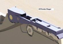 CP Feeder Finger assembled